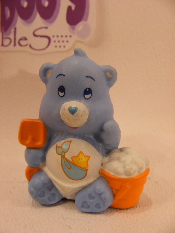 VINTAGE BABY TUGS CARE BEARS MINIATURE